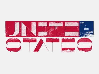 Unite The States! v.2 typography michigan covid19 coronavirus 2020 libertarian democrat republican fuck trump unite politics election 2020 election voting vote united states derek mohr