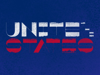 Unite The States! v.3 liberty typography michigan covid 19 coronavirus 2020 libertarian democrat republican fuck trump unite politics election 2020 election voting vote united states derek mohr