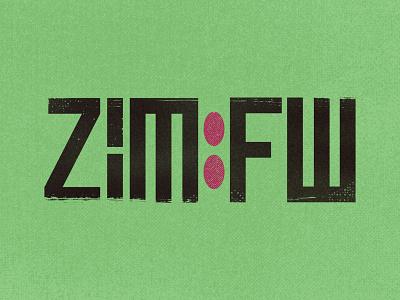 Zim [Framework] graphic design branding typography logo design logo derek mohr programmer framework hacker computer virus green zim matrix web development coding