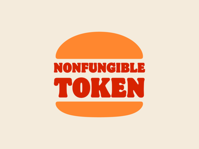 NFT Logo: Burger King crypto exchange cryptocurrency burger king graphic design grand rapids derek mohr token nonfungible nft logo logo design minimalism redesign recreated postmodern typography branding logo cryptoart crypto nft