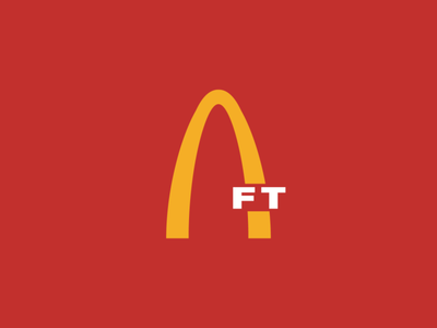 NFT Logo: McDonald's mcdonalds graphic design grand rapids derek mohr token nonfungible nft logo logo design minimalism redesign recreated postmodern typography branding logo crypto exchange cryptocurrency cryptoart crypto nft