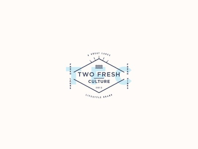 Two Fresh Culture grand haven grand rapids great lakes two fresh culture derek mohr clothing hipster modern typography logo branding michigan