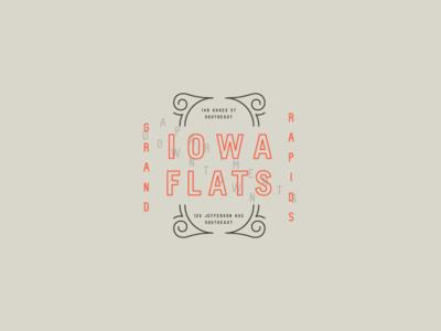 Iowa Flats Badge