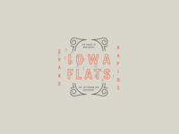 Iowa Flats Badge