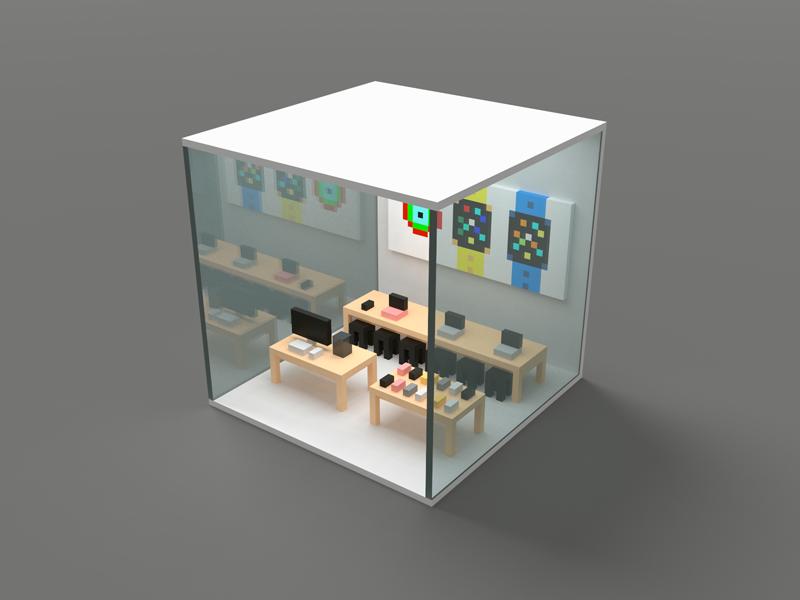 Apple Store (WIP) arkit 3d store apple