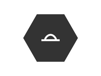 Tangible Voice icon brand logo identity hexagon hex tangible voice tangible voice degree final year project