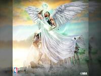 Giannis Antetokounmpo NBA Graphic