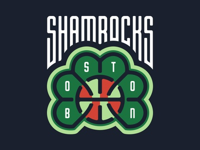 Boston Shamrocks Logo