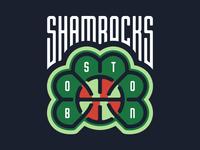 Boston Shamrocks Logo