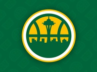 Seattle Sonics Secondary Logo