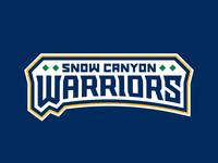 Snow Canyon Warriors Wordmark