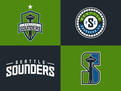 Seattle Sounders Logo Set Proposal
