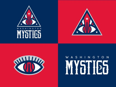 Washington Mystics Identity Concept