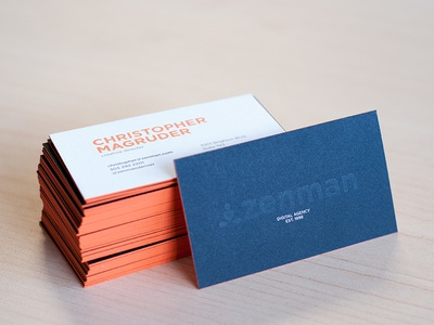Zenman :: Business Cards