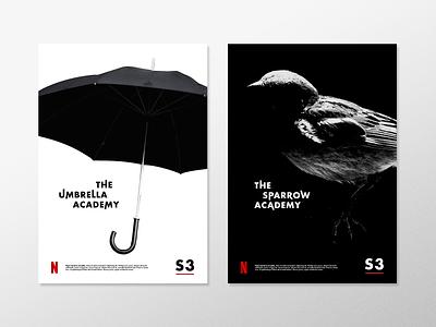 Umbrella Academy - Weekly Warm Up sparrow academy