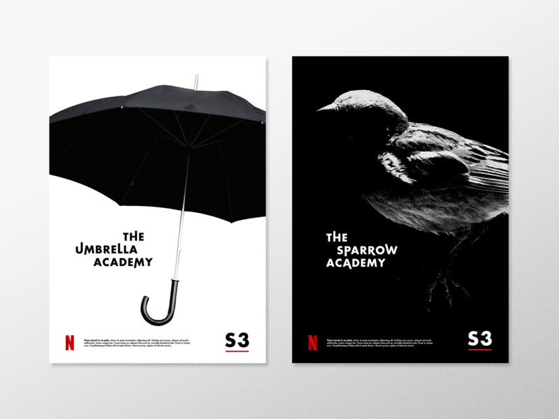 Umbrella Academy - Weekly Warm Up sparrow academy