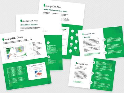 MongoDB Product Sheets data information product onepage charts print handout tech world mongodb