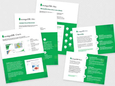 MongoDB Product Sheets