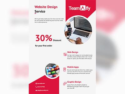 TeamAlfy web branding design