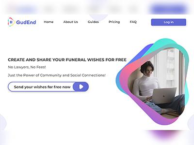 GudEnd ux ui web design