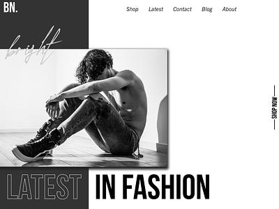 Webpage Design Fashion logo branding illustration web webdesign website design website ux ui design