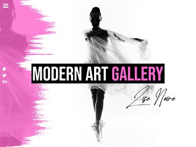 The last Dance - Lise Noir branding marketing website ui website design webdesign art illustration design