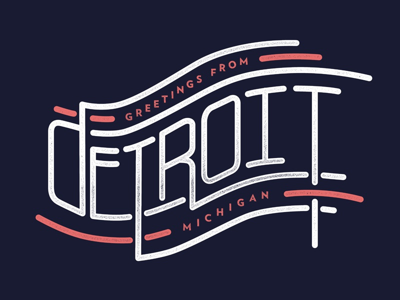 The motor city by joey carty dribbble for Motor city detroit mi