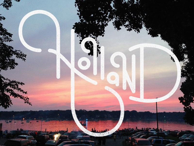 Holland   thick   dribbble