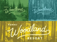 Woodland Resort Logo