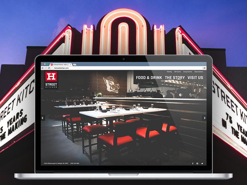 macbook pro dribbble - H Street Kitchen