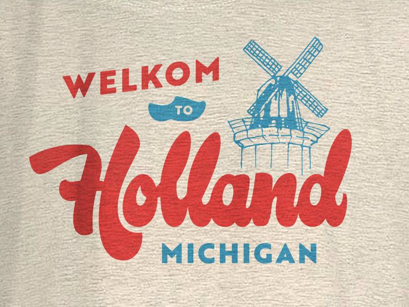 Holland Michigan By Joey Carty On Dribbble