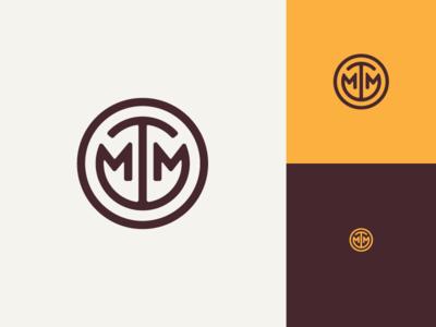 Oh, he ded. button logomark logo monogram