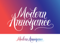 Modern Annoyance