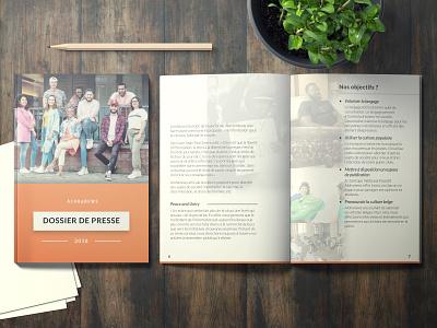Alohanews - Dossier de presse : Design icon illustration minimal flat chromatic branding book ux typography model design