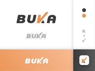 BUKA - Logo conception