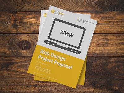 Web Design Project Proposal proposals web proposal web design landing page web website branding design webdesign proposal template proposal web design agency web design