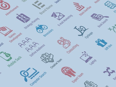 Content Marketing Business icons corporate web business icon pack business seo proposal digital  icon content marketing content brochure icon design icon marketing brand