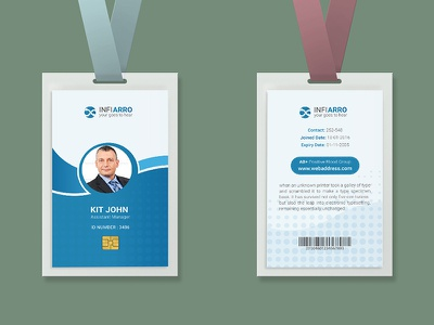 Content Marketing Office ID Card medical card universityid card staff credentials pass membership card office office card name tag mockup journalist card job entry pass identity card employee card brandidentity
