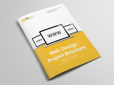 Web Design Brochure web design agency yellow website brochure brochure template web proposal promotion pricing packages magazine digital brochure company brochure