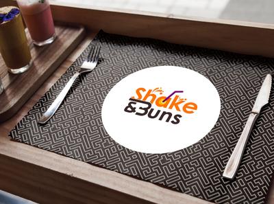 Shake & Buns - Logo Branding