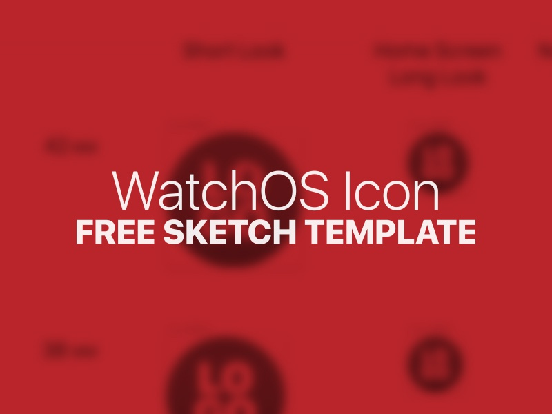 WatchOS Icon Template free apple watch watch apple sketch template icon giveaway