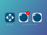 Main and Secondary App Icons