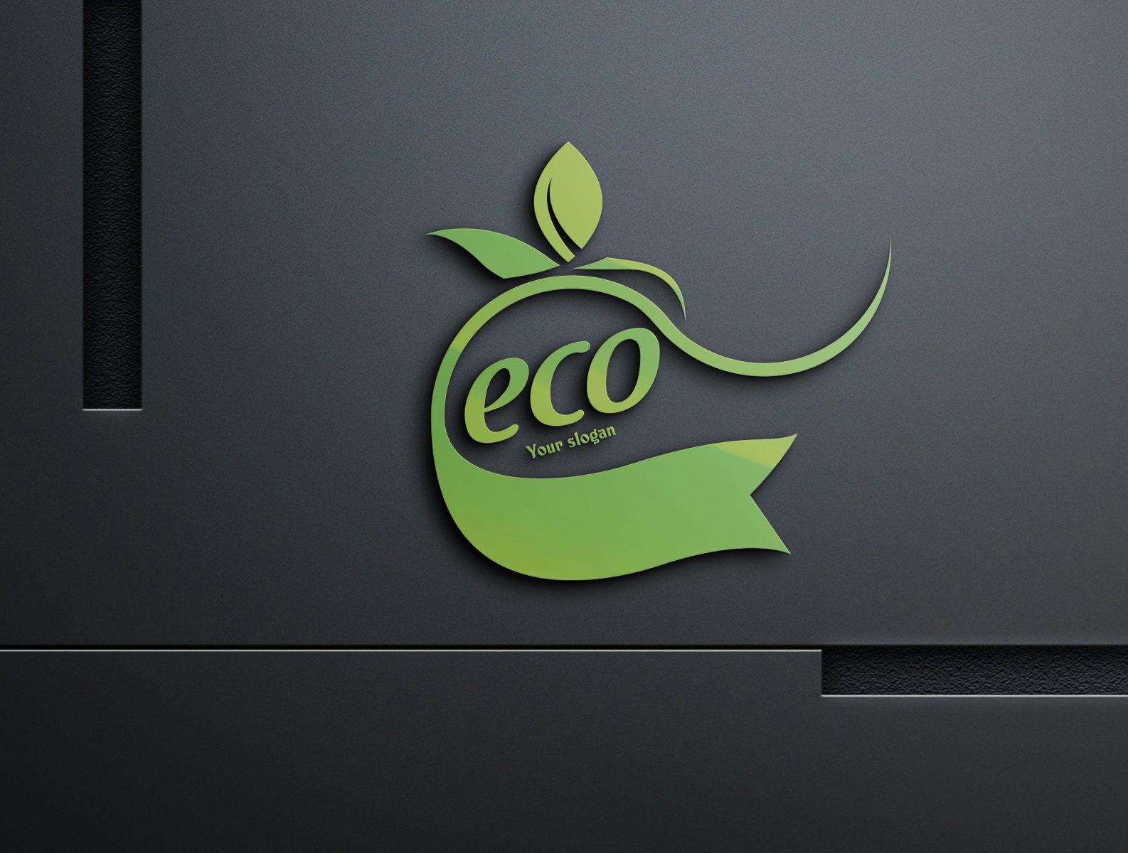 Eco Friendly Logo Design By Jahangir Hussain On Dribbble