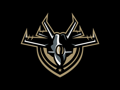 San Diego Mavericks esports sport logo brand design football mascot sports logo fly plane fighter top gun mavericks jet