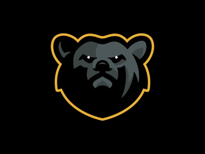 HHDP Kodiaks predator kodiak grizzly bear kids spring league hockey animal team branding esports sport logo brand design vector matthew doyle mascot logo sports