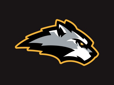 HHDP Wolves pack wolf wolves kids predators league spring hockey animal team branding sport logo brand design vector matthew doyle mascot logo sports