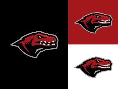 Raptor wip sketch illustration athletics identity reptile logotype raptor dinosaur school team branding vector sport logo brand design matthew doyle mascot sports logo