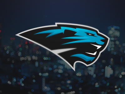 Panthers cougars panthers wildcats carolina football nfl sport logo matthew doyle