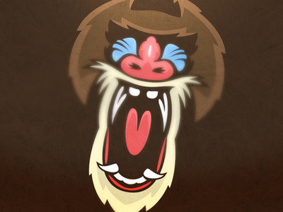 Mandrills mandrill baboon monkey logo sports sport logo fraser davidson skillshare class matthew doyle