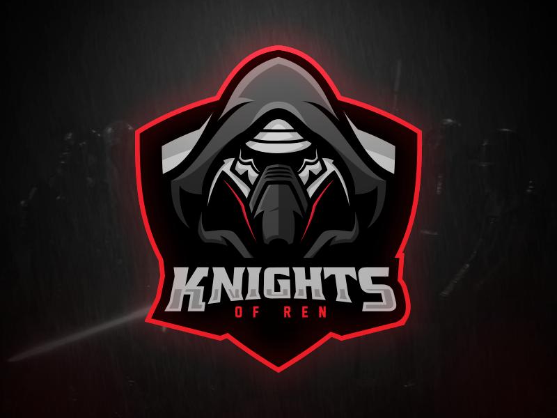 Knights of Ren sports vector force awakens illustration star wars knights of ren kylo ren matthew doyle